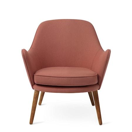 Dwell Lounge Chair Blush Hero