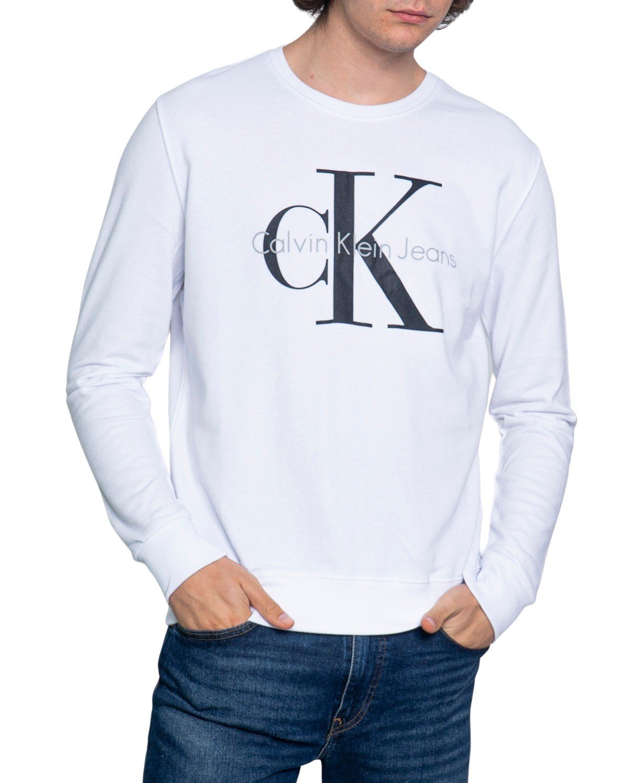Calvin Klein Jeans Men's Sweatshirt Various Colours 188994 - white S