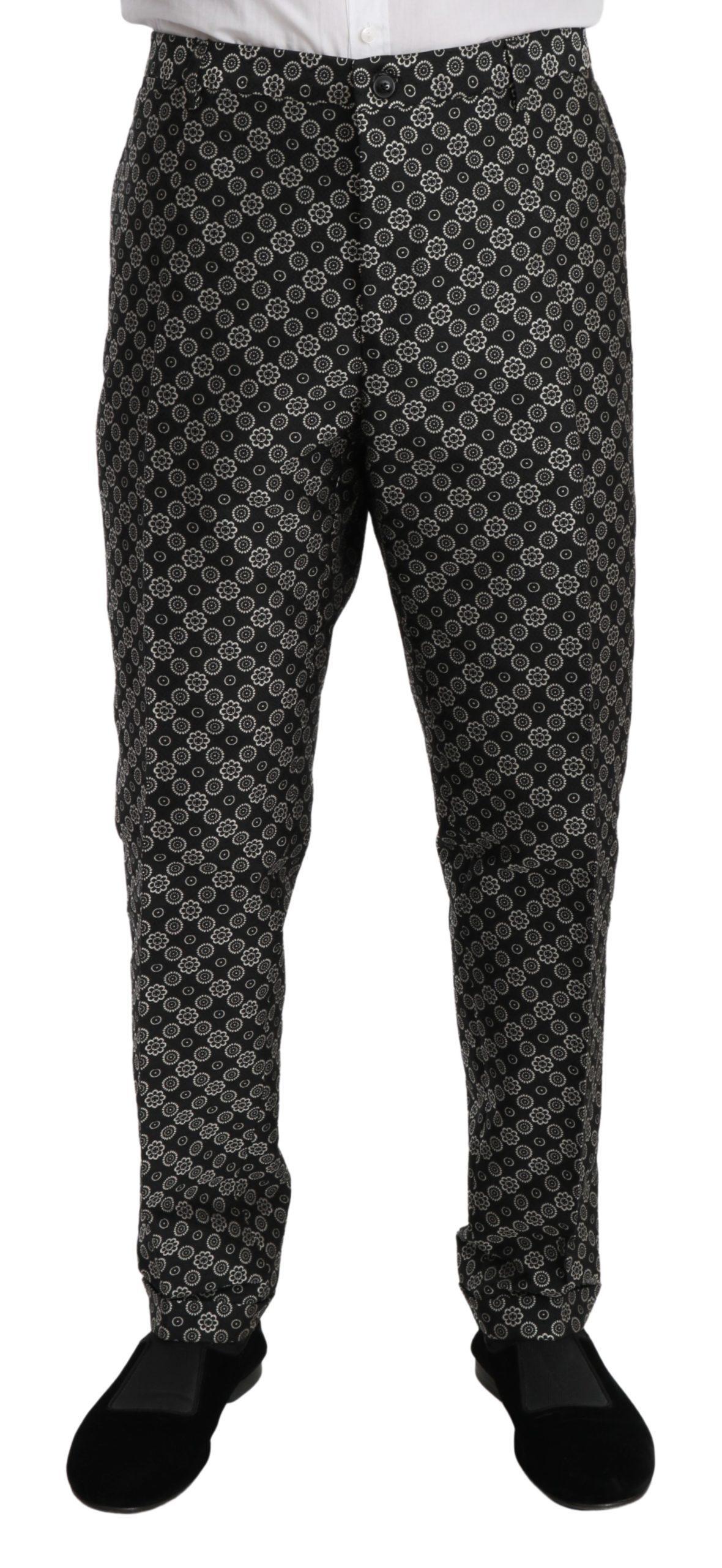 Dolce & Gabbana Men's Fantasy Trouser Black PAN70954 - IT58 | XXL