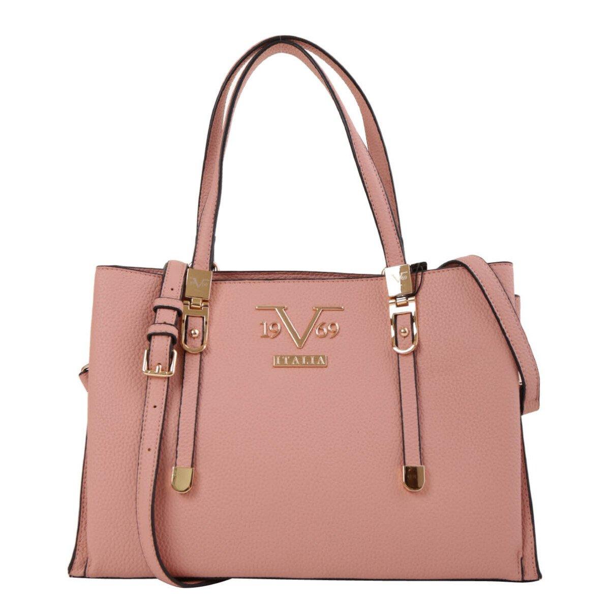 19v69 Italia Women's Handbag Various Colours 318969 - pink UNICA