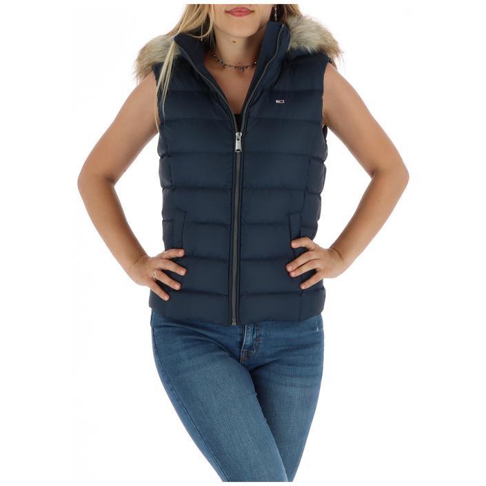 Tommy Hilfiger Jeans Women's Gilet Blue 314333 - blue XS