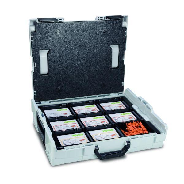 Wago 887-918 Lajitelmalaatikko puristusliittimet + kiinnikkeet