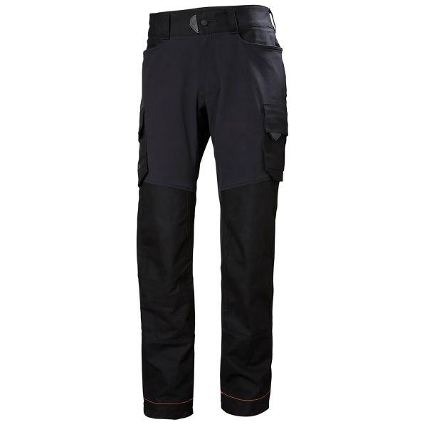 Helly Hansen Workwear Chelsea Evolution Työhousut musta, 4-suuntainen joustomateriaali C44