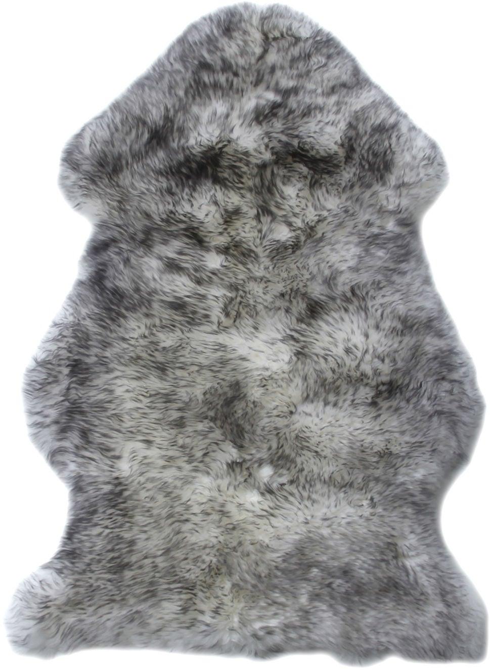 BOZZ Lammskinn Långhårig, Grey Mist
