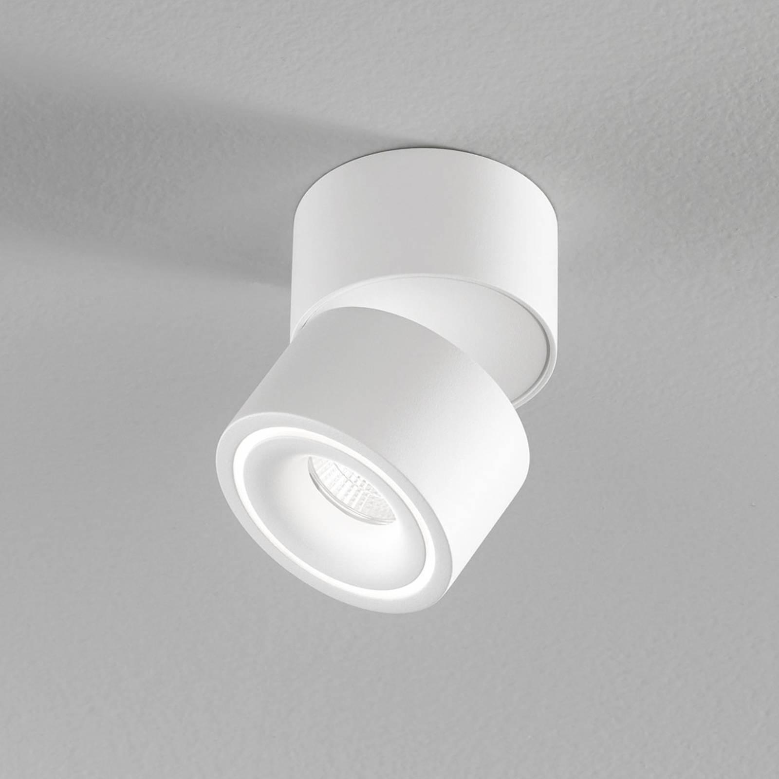 Egger Clippo S LED-kattokohdevalo, valkoinen