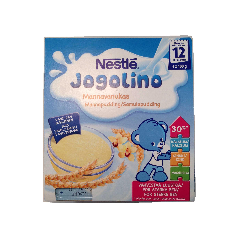 Jogolino mannapudding - 20% rabatt