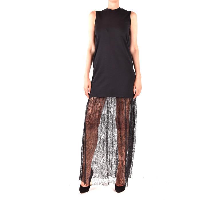 Alexander Mcqueen Women's Dress Black 320590 - black XS