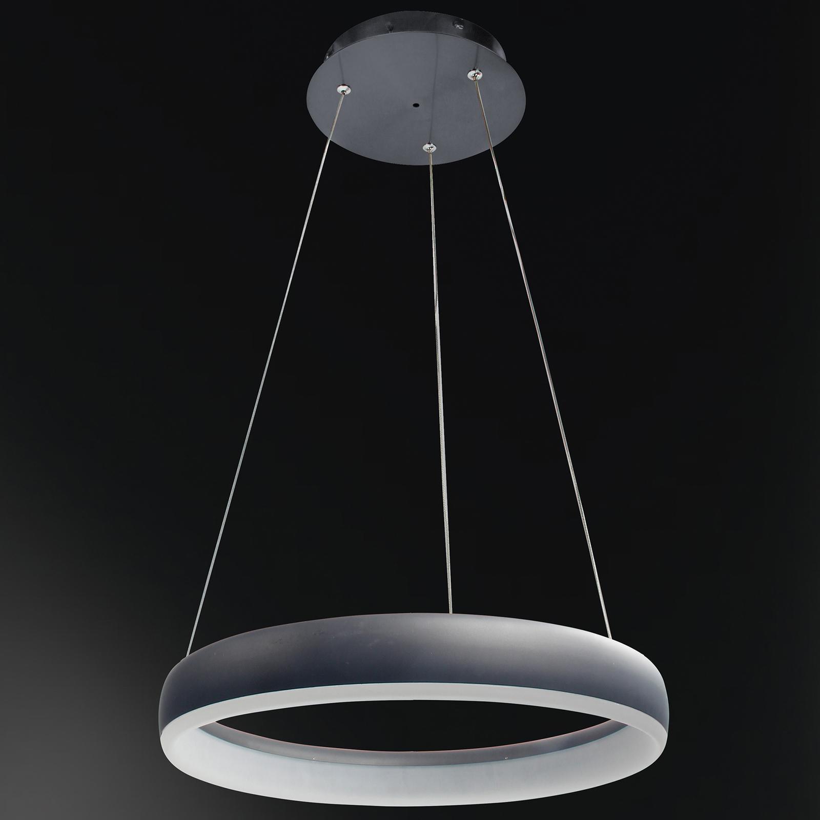 WiZ Clint LED-riippuvalaisin musta, Ø 40 cm
