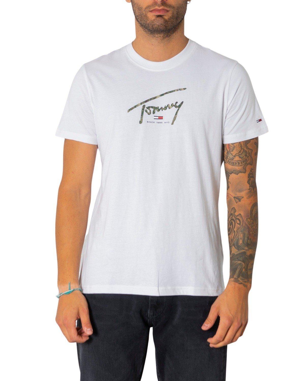 Tommy Hilfiger Jeans Men's T-Shirt Various Colours 308074 - white M