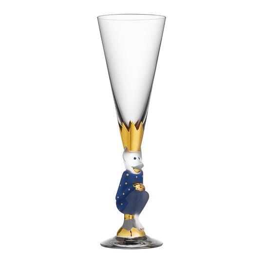 Orrefors - Nobel Champagnedjävul 19 cl Blå