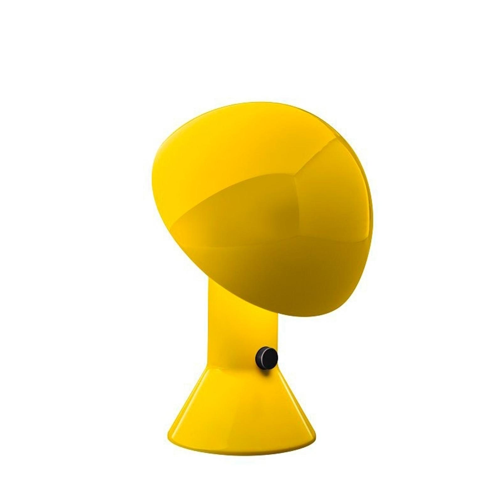 Martinelli Luce Elmetto -pöytävalaisin, keltainen