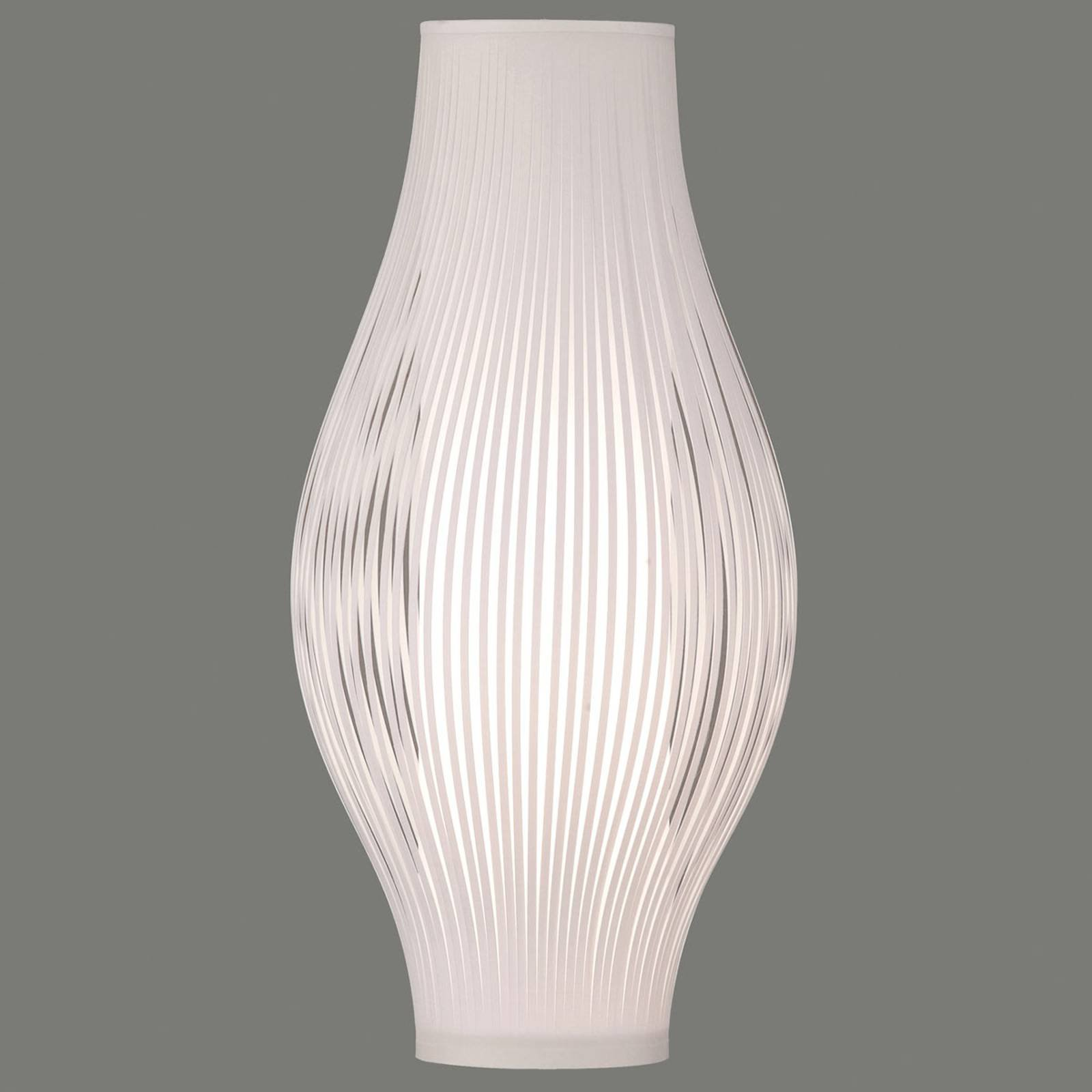 Bordlampe Murta, 71 cm, hvit