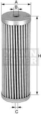 Ilmansuodatin MANN-FILTER C 610/2