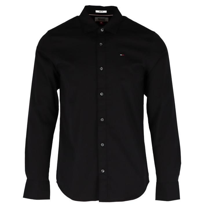 Tommy Hilfiger Jeans Men's Shirt White 273505 - black S