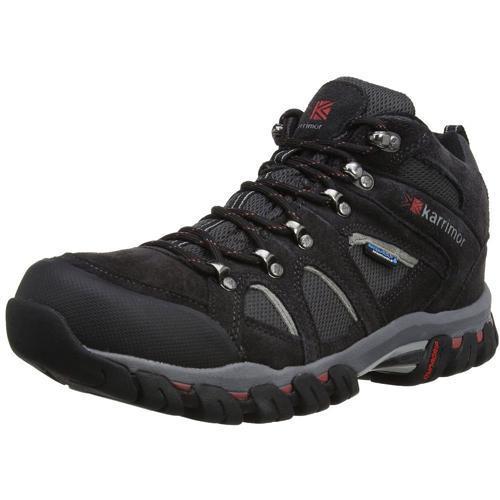 Karrimor Men's Weathertite Mid Rise Waterproof Hiking Boot Various Colours Bodmin Mid 4 - Black Sea UK-7