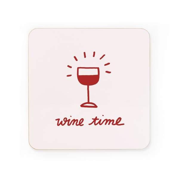 Wine Time Coaster