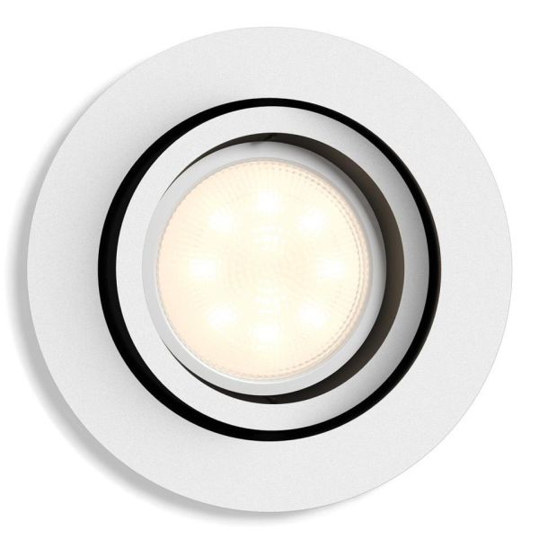 Philips Hue White Ambiance Milliskin Kohdevalaisin 5W LED, 350 lm, GU10 valkoinen