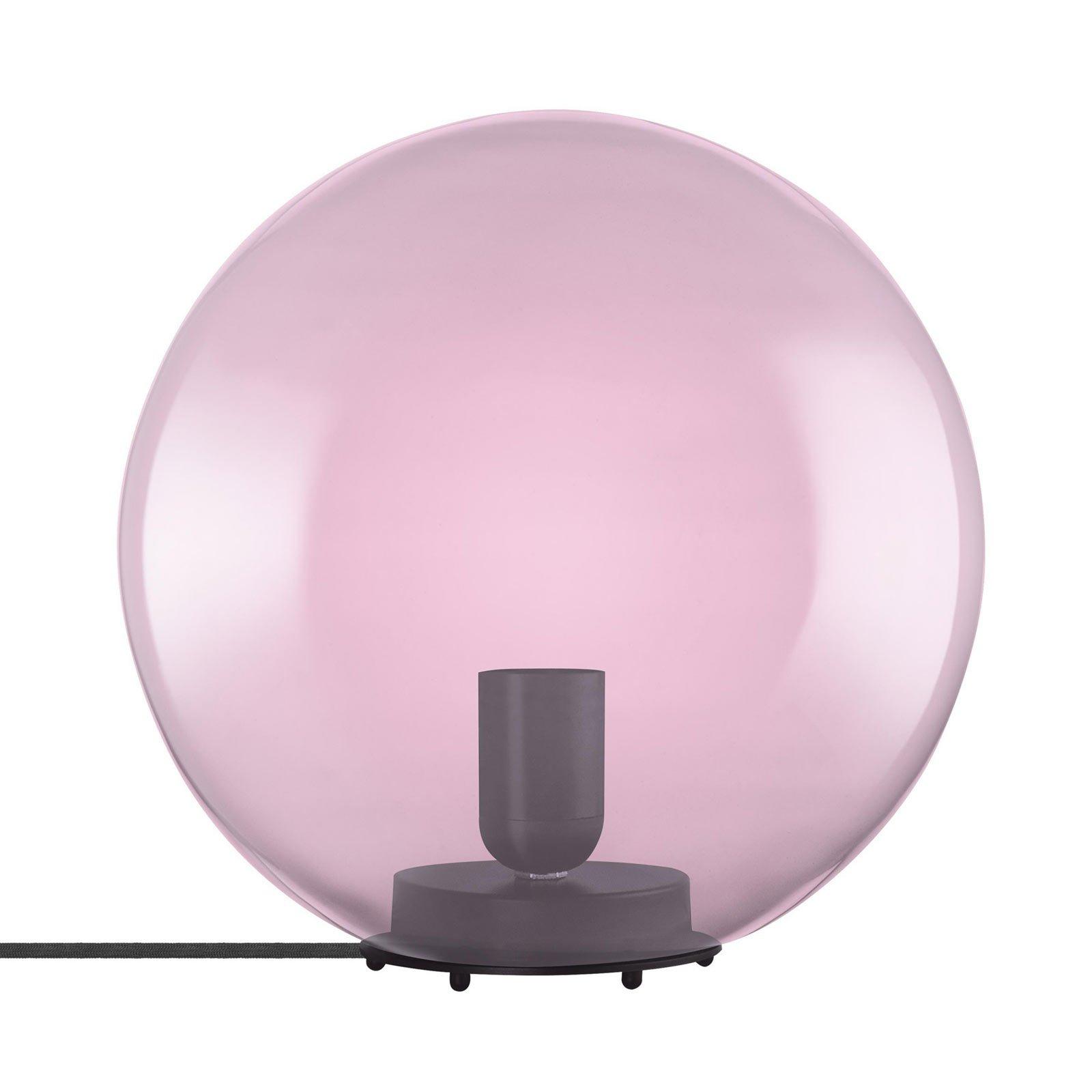 LEDVANCE Vintage 1906 bordlampe Bubble, rosa