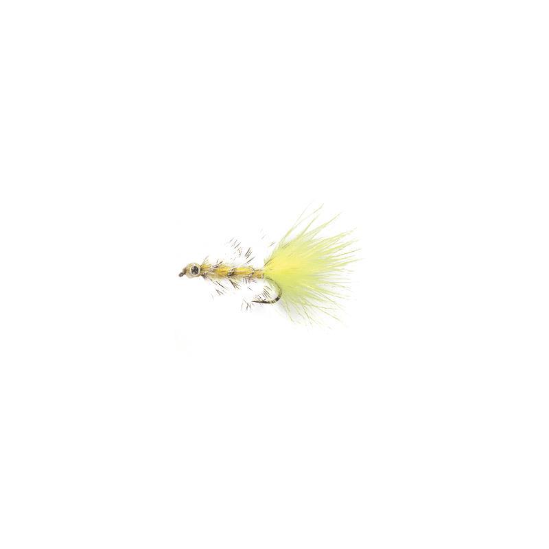 Swim Bugger #8 Fluo Yellow Kjøp 12 fluer få gratis flueboks