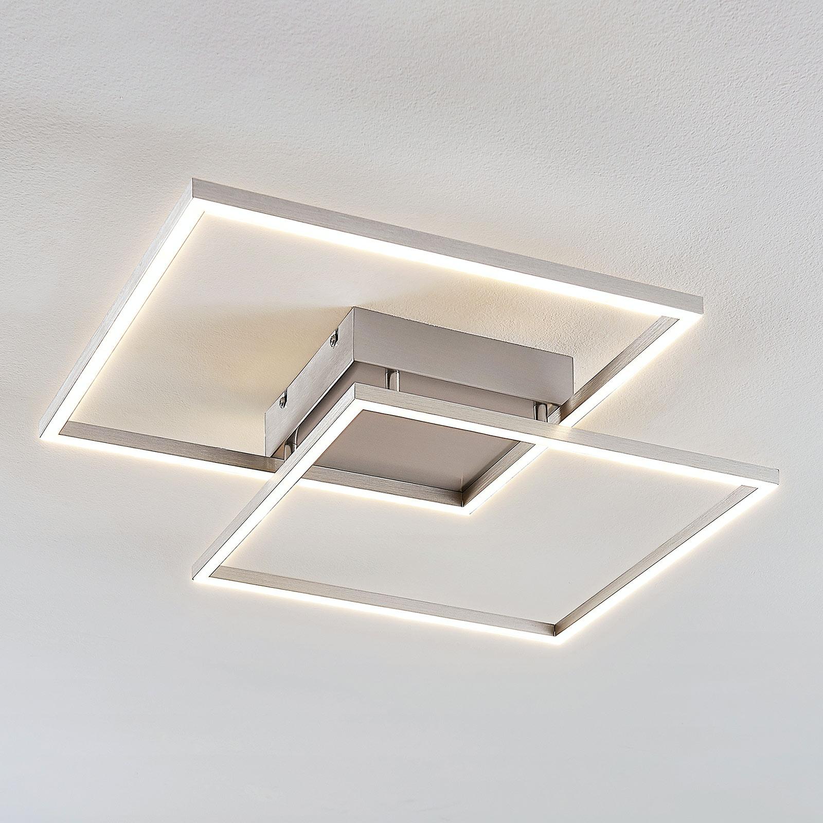 Muotoilultaan kiehtova LED-kattolamppu Mirac