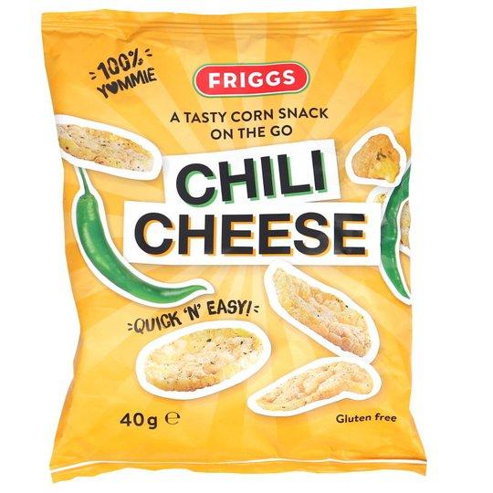 Maissisnacksit Chili & Juusto - 51% alennus