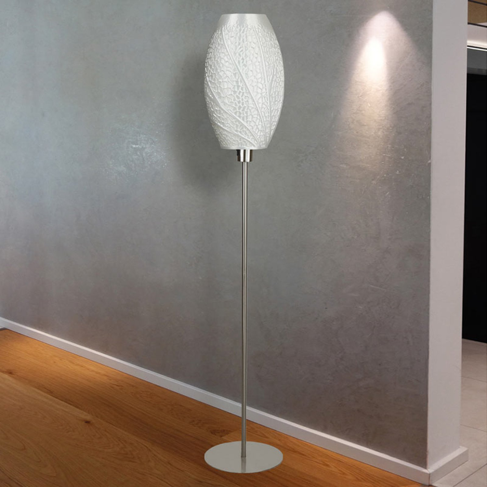 Designer-gulvlampe Flora, 3D-trykk