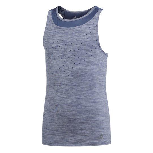 Adidas Girls Dotty Tank Treningssinglet, Nobel Indigo 116