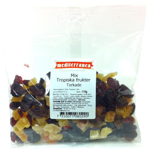 Mix Torkade tropiska frukter - 28% rabatt