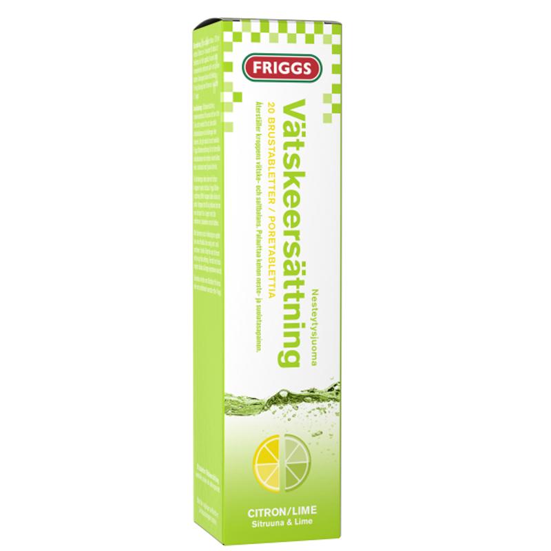Brustabletter Vätskeersättning 20-pack - 31% rabatt