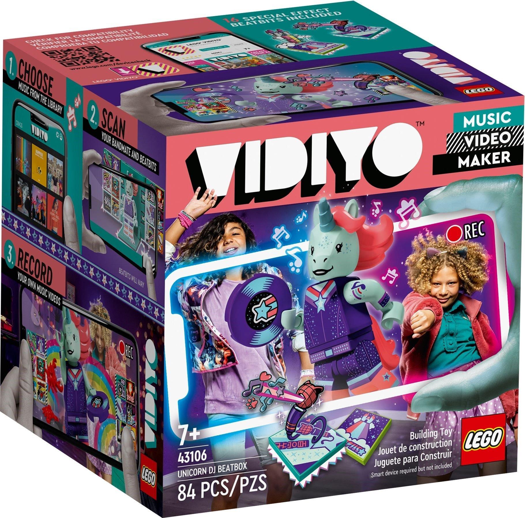LEGO VIDIYO - Unicorn DJ BeatBox (43106)