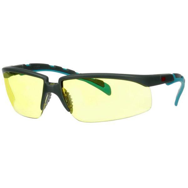 3M Solus 2000 Vernebriller Grå/blå-grønn brillestang, gul linse