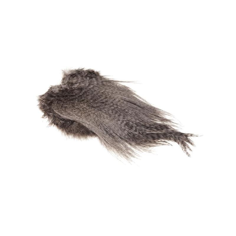 Whiting Spey Saddle - Grizzly/Heron Grey Bronsegradering
