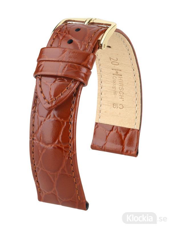 Hirsch Crocograin 12mm Medium Guldbrun/Guld 12302870-1-12