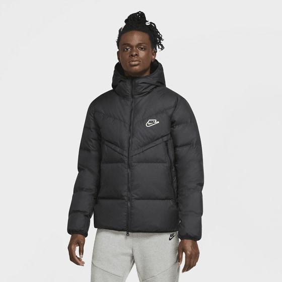 Nike M Dwn Fil Wr Jkt Shld Jackor BLACK/BLACK