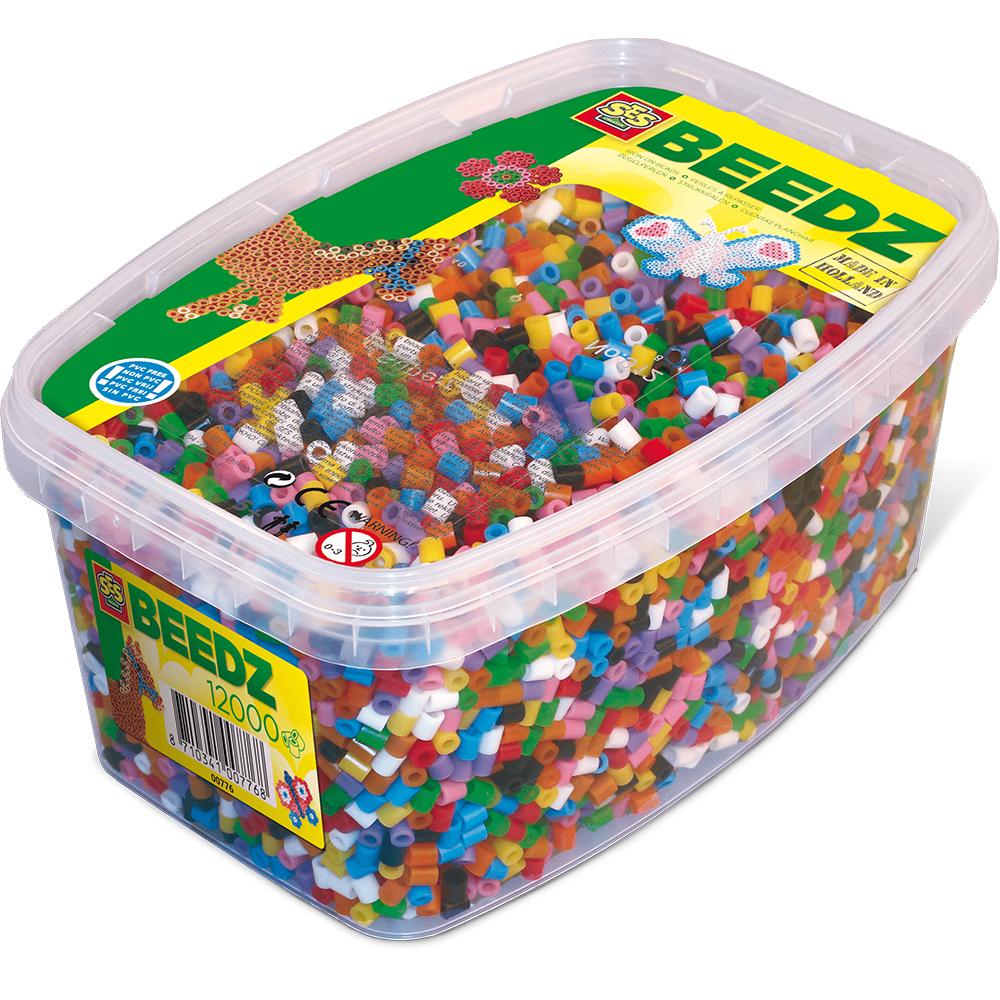 Ses Creative - Pärlor - 12 000 bitar, blanda färger