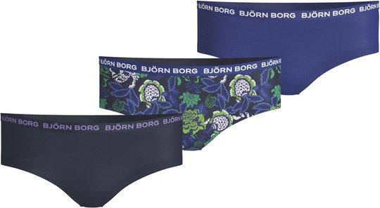 Björn Borg Hipster 3-pack, Peacoat 158-164