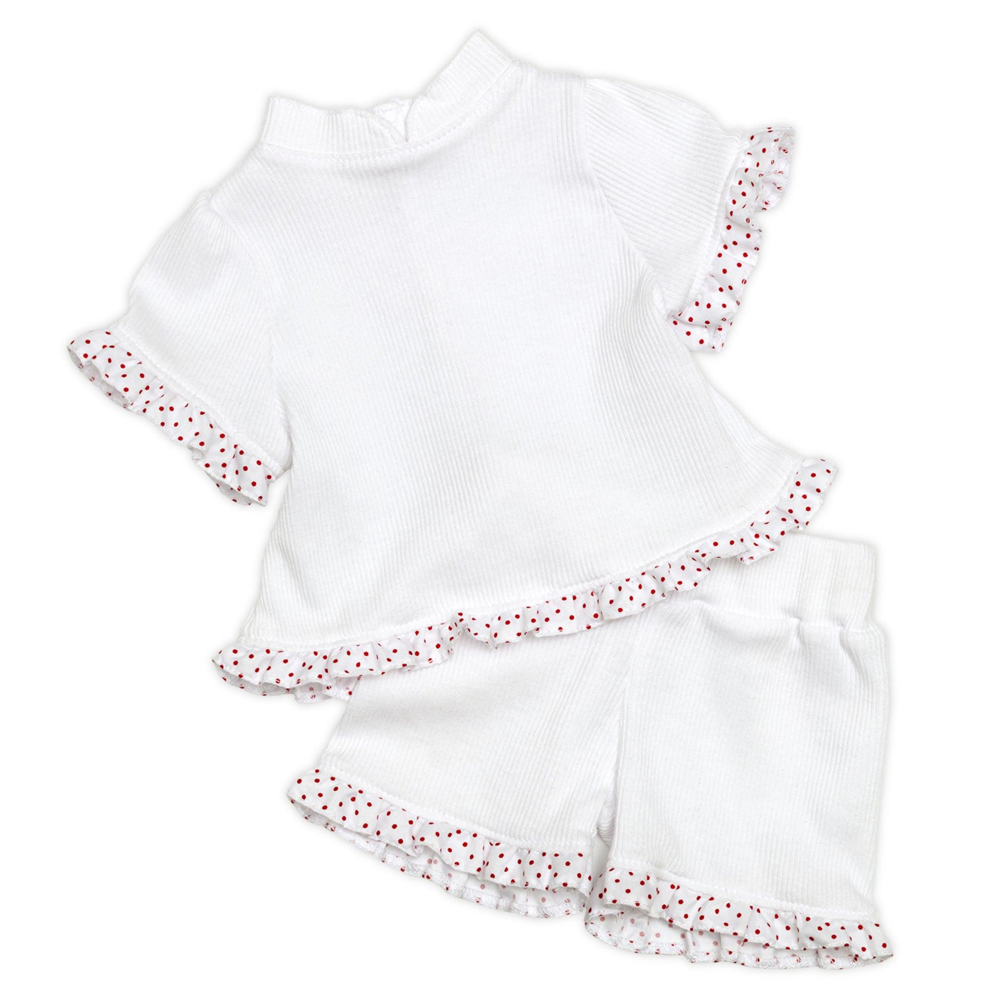 Skrållan Pyjamas, Vit