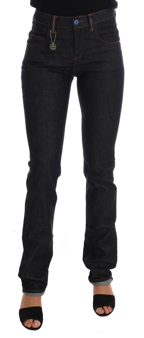 Costume National Women's Cotton Stretch Slim Fit Jeans Blue SIG30135 - W26