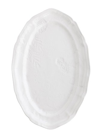 Fat Oval Hvit