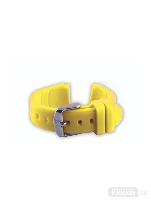 GUL Armband Silicone 16mm - Yellow 4460116