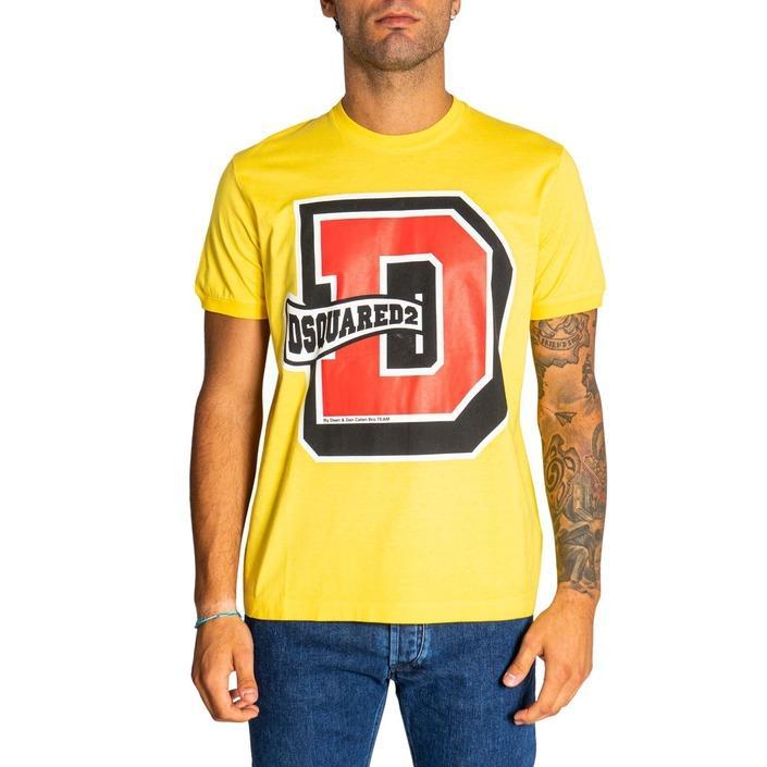 Dsquared2 - Dsquared2 Men T-Shirt - yellow L