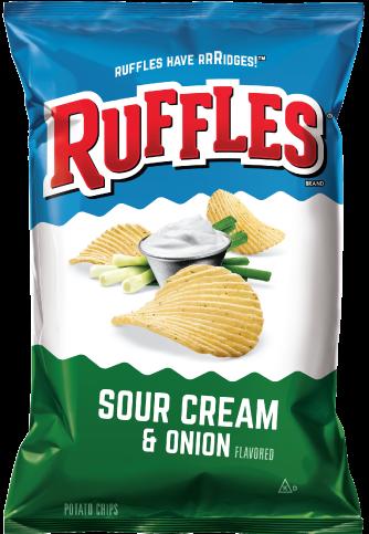 Ruffles Sour Cream & Onion 184.2g