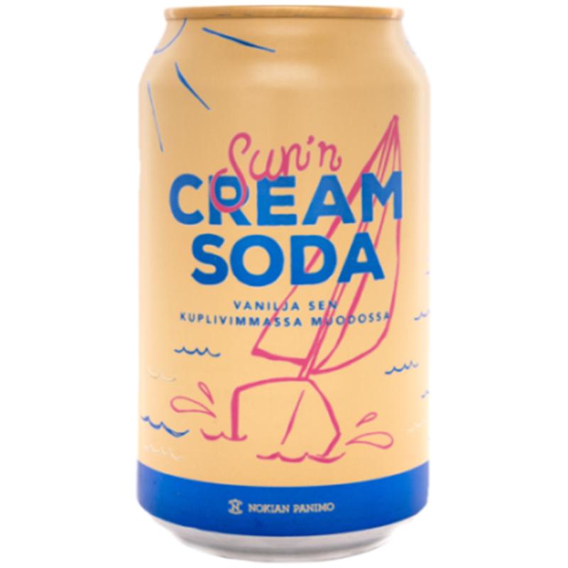 "Virvoitusjuoma ""Cream Soda"" 33cl - 20% alennus"