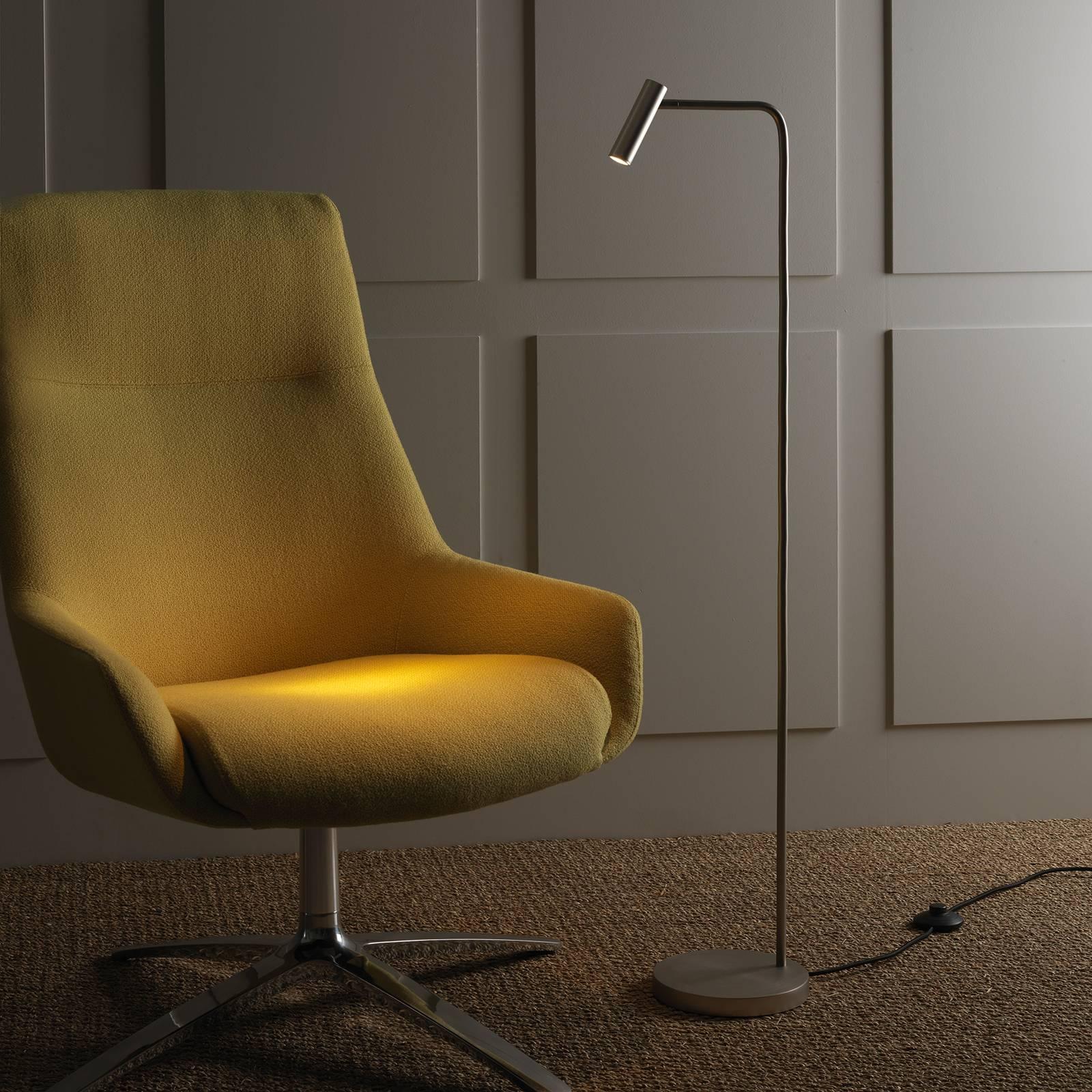 Astro Enna -LED-lattiavalaisin, mattanikkeli