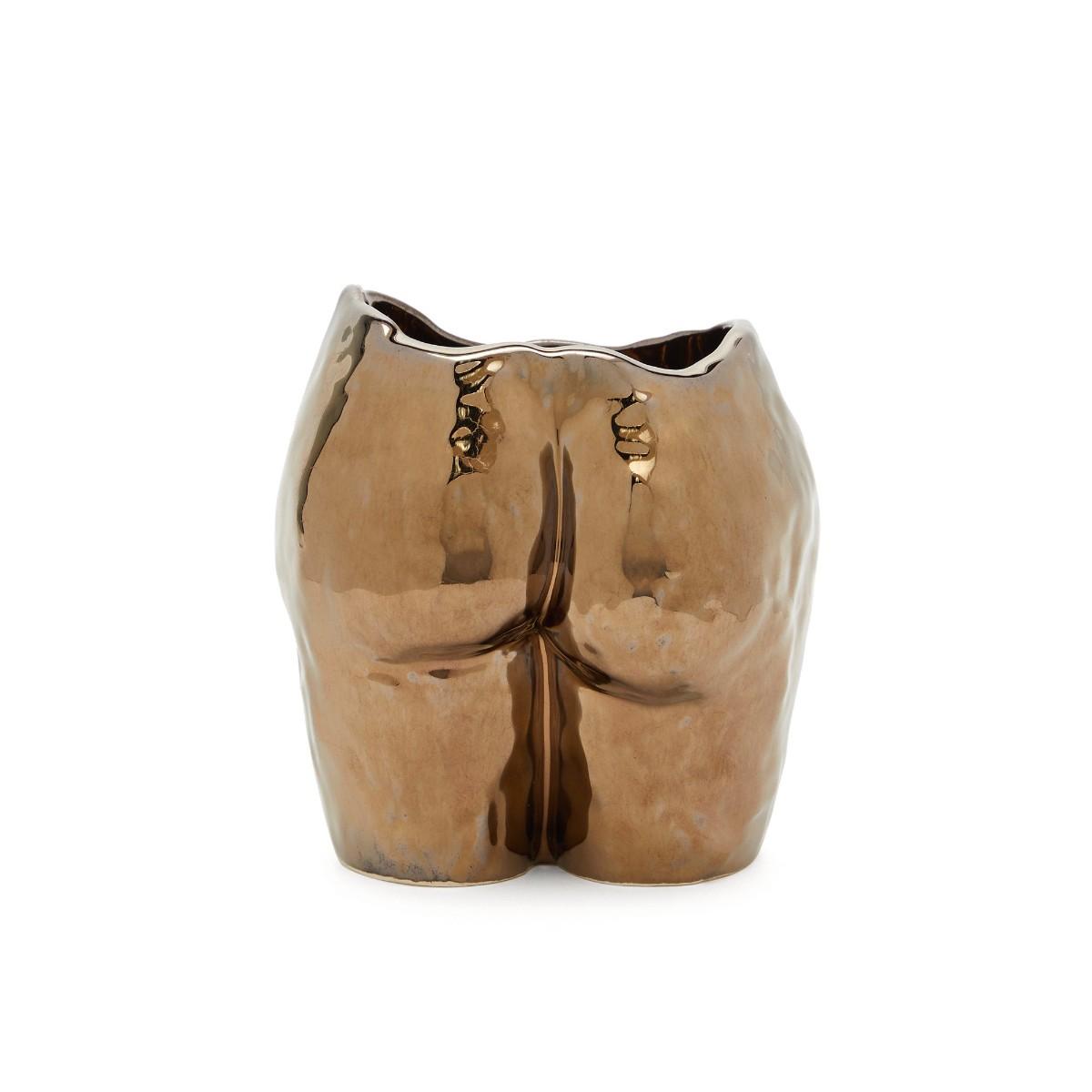 Anissa Kermiche | Popotin Vase | Gold Metallic