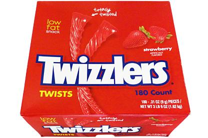 Twizzlers Strawberry 180st Box