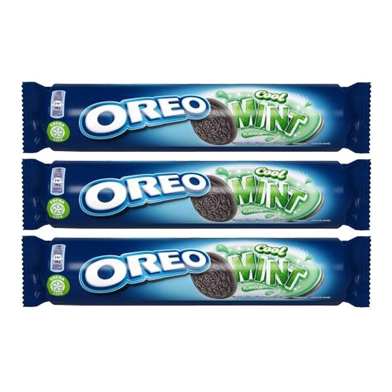 Oreo Mint Keksipaketti - 27% alennus