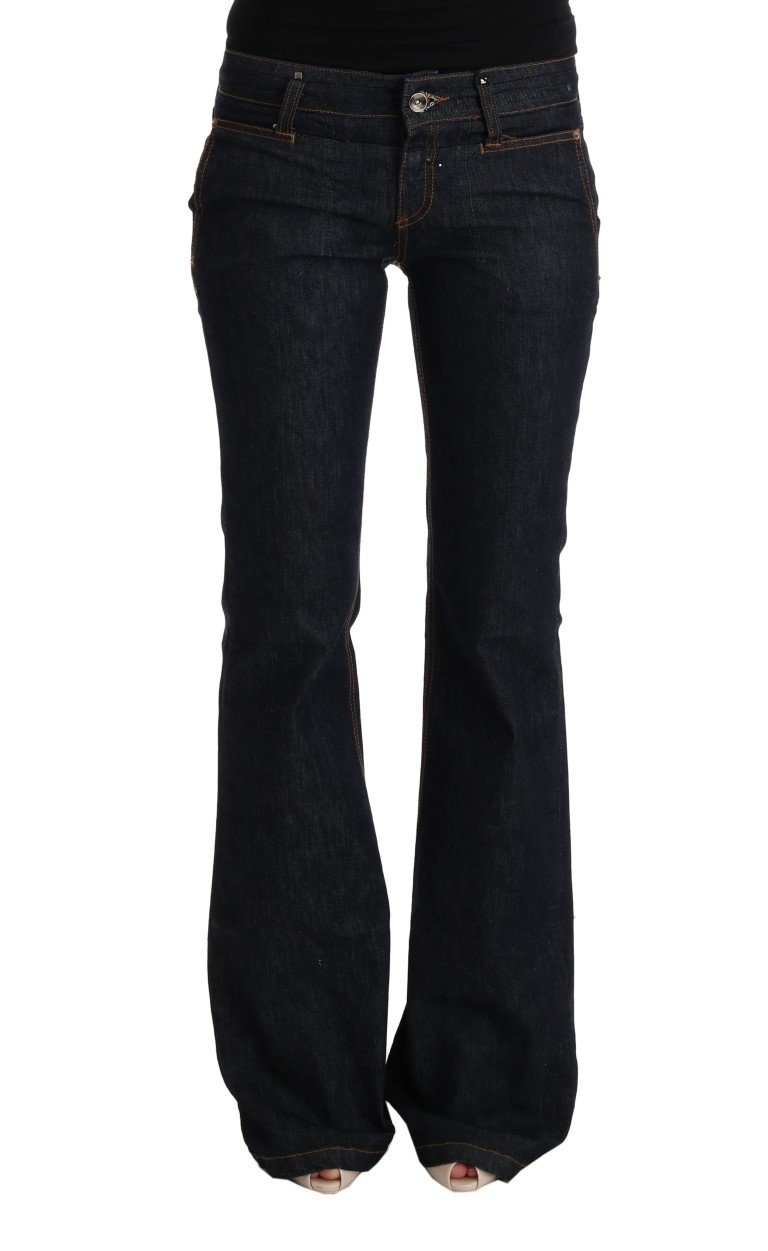 Costume National Women's Cotton Bootcut Flared Jeans Blue SIG30111 - W26