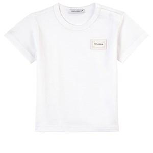 Dolce & Gabbana Logo T-Shirt Vit 18-24 mån