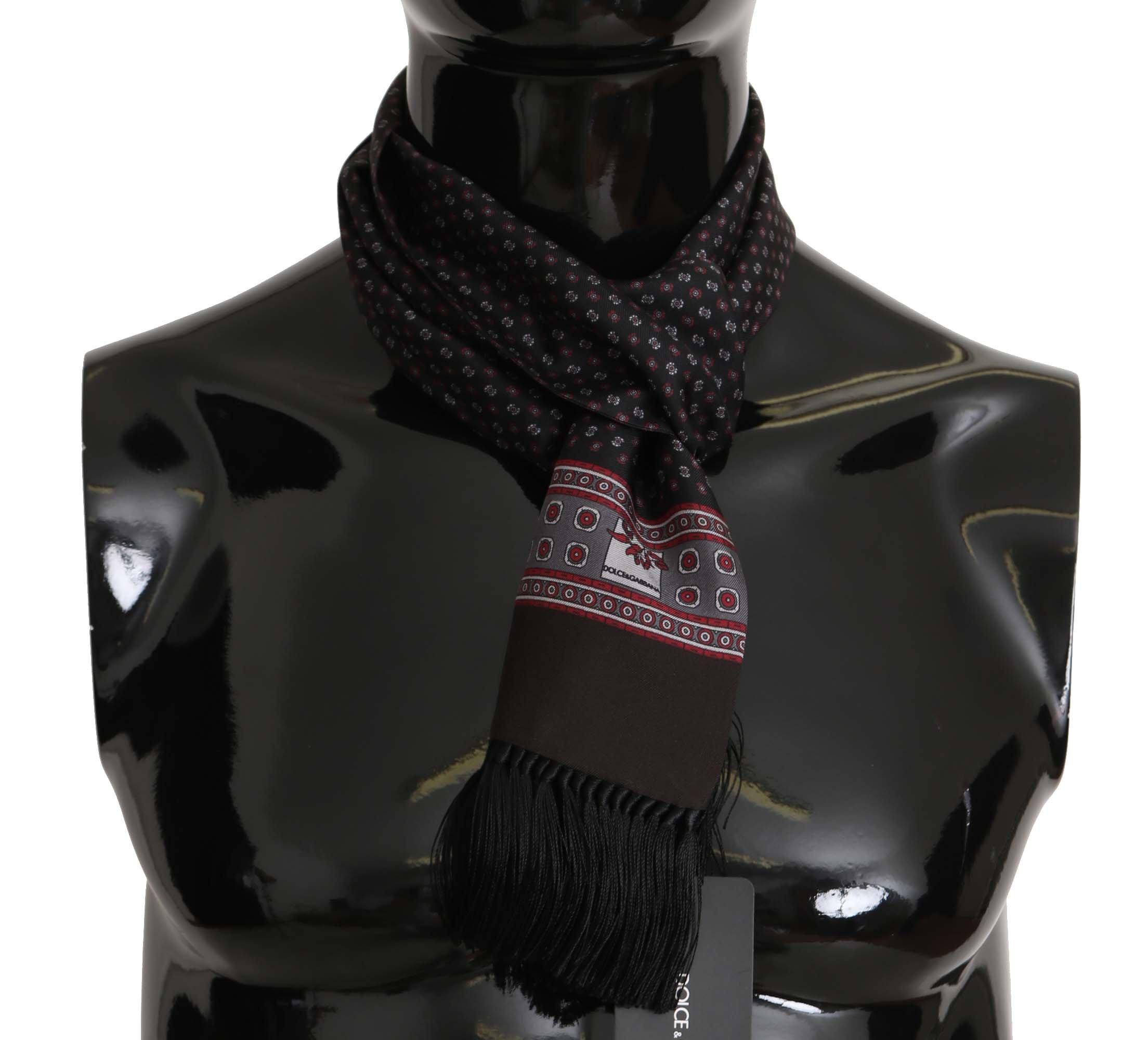 Dolce & Gabbana Men's Scarf Brown MS5135